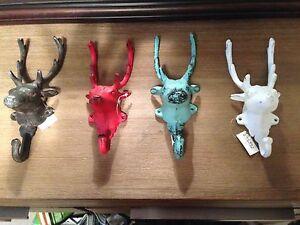 Deer head hangers