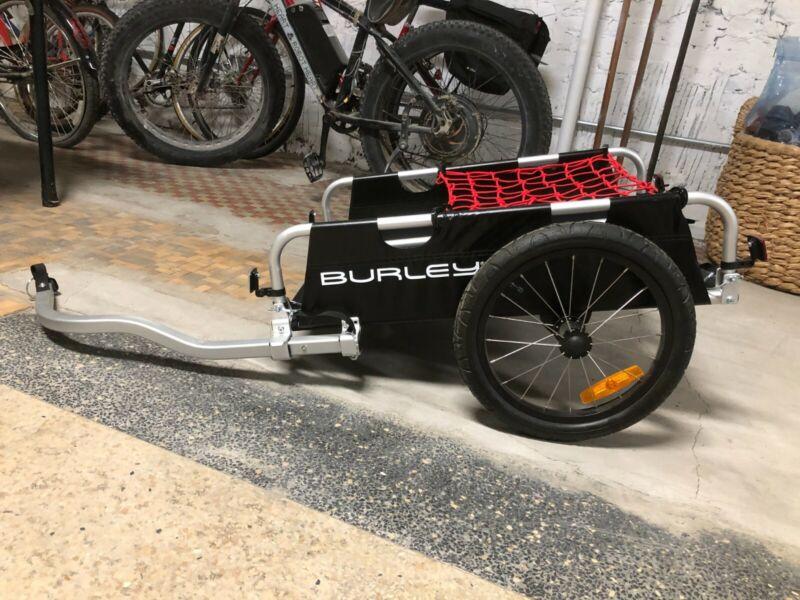 Burley Flatbed Bike Cargo Trailer - Black