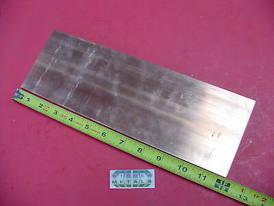 14x 4 C110 Copper Bar 12 Long Solid Flat Bar .25x 4 Bus Bar Mill Stock