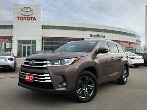 2017 Toyota Highlander Limited AWD - No Accidents / Local Trade-