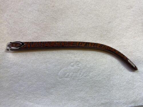 Branche en bois bubinga lunettes cartier vintage collection c décor  2000's !!!