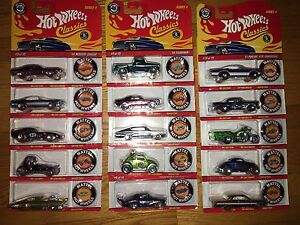 2007 Classic Hot Wheel Complete Set
