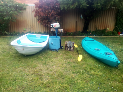 Kayak and boat package
