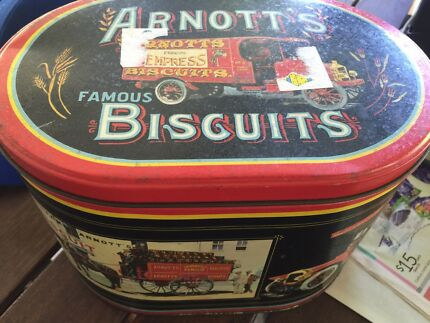Arnotts biscuit tin Mount Sheridan Cairns City Preview