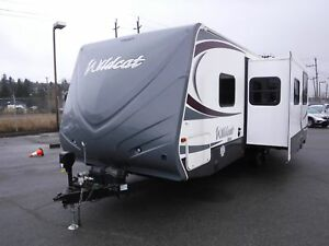 2013 forest-river Wildcat T26BHS Travel Trailer 1 Slideout