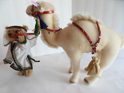 Steiff bear with dromedary camel mohair lim.ed.  Germany 1654