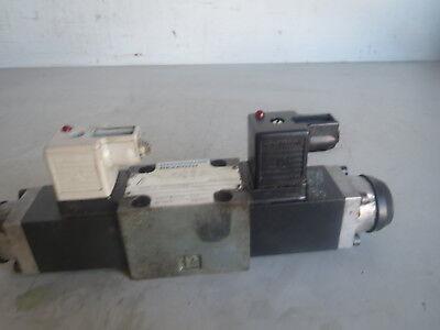 Traub Mannesmann Rexroth Hydraulic Valve 4we 6 J53ag24nk4 Lot Traub-40 Remi