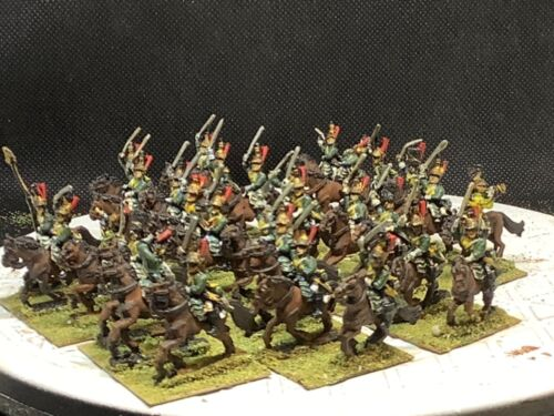 15mm Handpainted Napoleonic French Empress Dragoons (30 Horse/30 Riders)