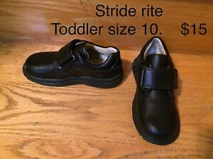 Leather stride rite dress shoes