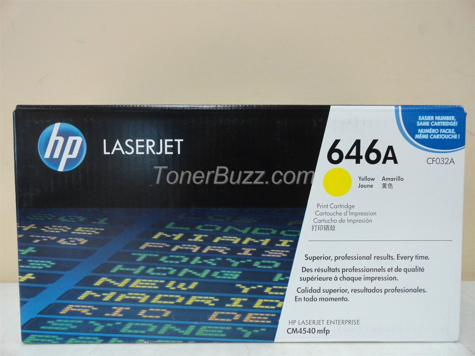 NEW HP CF032A Yellow Toner Cartridge Genuine