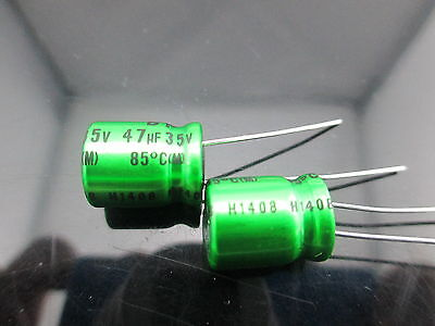 Japan 10pcs Nichicon Muse Es Bp 47uf 35v 47mfd Audio Capacitor Caps