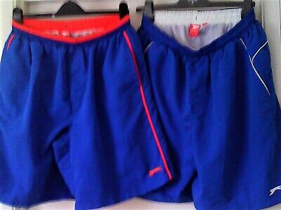 Men's Puma Job Lot Bundle of 2 Pairs of Blue Shorts GC