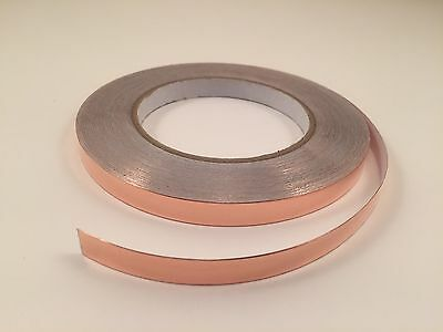 10mm X 30m Yards Copper Foil Tape- Emi Shielding- Conductive-99