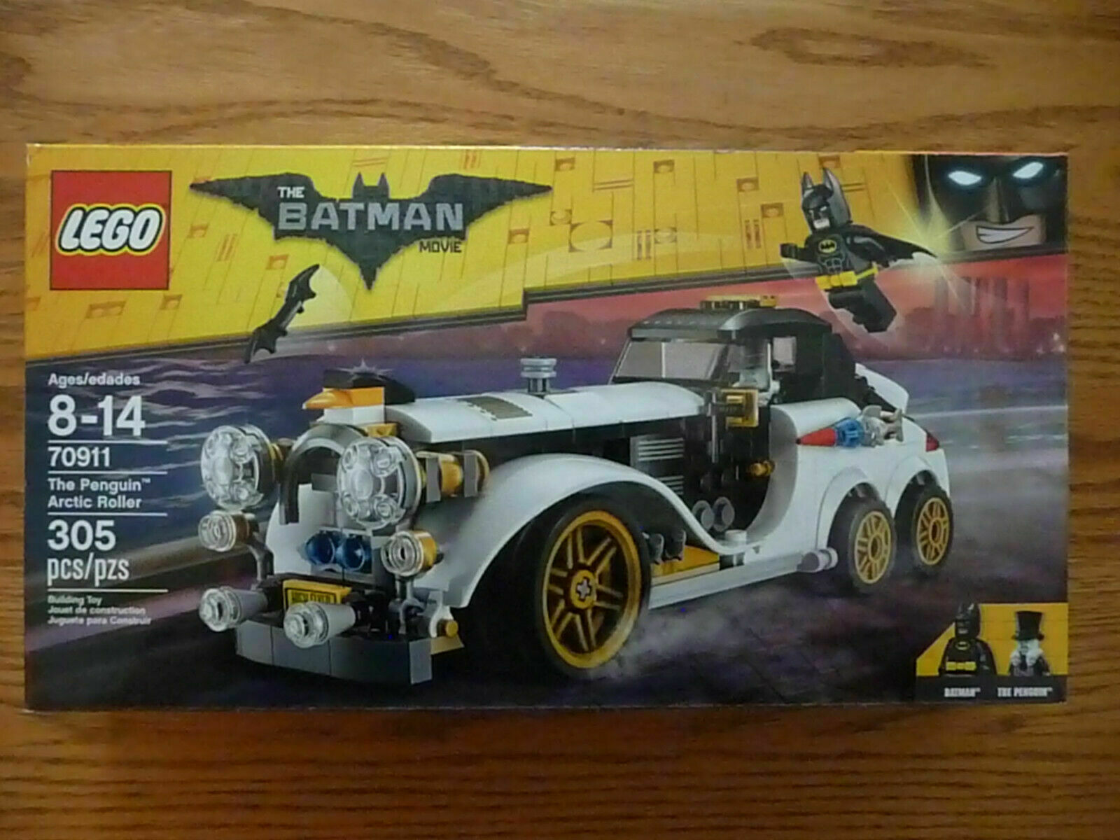 Speelgoed En Spellen Lego 70911 The Batman Movie The Penguin Arctic Roller Rolls Royce Srishtidigilife Co In