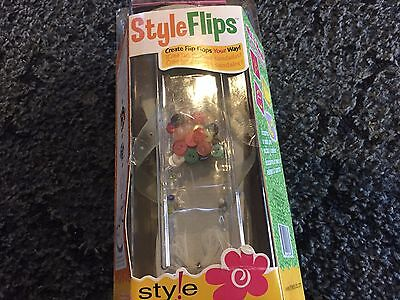 Style Studio ~ Styleflips ~ Design Your Own Flip Flops Womens Size 7-9 - Design Your Own Flip Flops