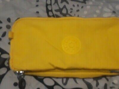 Kipling Yellow Pencil Case