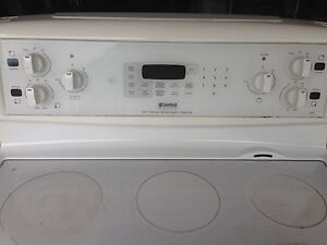Kenmore self cleaning smooth top convection range oven