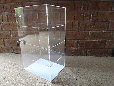 Acrylic Counter Top Display Case Acrylic Locking Show Caseshelves 12x6x16
