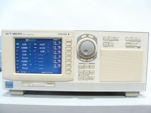 Yokogawa WT1600 Digital Power Analyzer Meter 6Ch Opt: 06, C1, D 760101