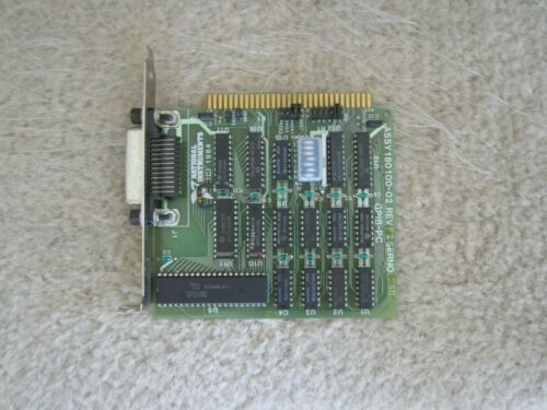 1984 National Instruments 180100-02 GPIB-PC Interface Card RevF - TESTED & WORKS