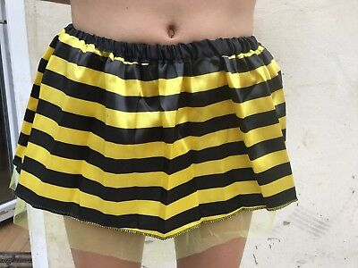 Bumble Bee Tutu (** KIDS BUMBLE BEE YELLOW & BLACK TUTU SKIRT O/S NEW ** FANCY DRESS CHILDS )