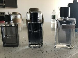 3 high end mens fragrance never used Excellent Stocking Stuffers