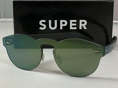 Retrosuperfuture Tuttolente Paloma Petrol Frame Sunglasses SUPER KFJ 48mm NIB