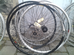 "Refurbished bike bicycle wheels, 26"" front, disc or rim brake Maribyrnong Maribyrnong Area Preview"