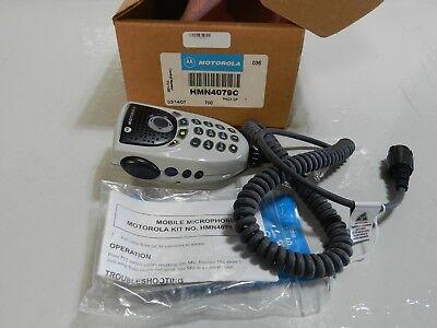 Motorola HMN4079C Enhanced Keypad Microphone for XTL5000 APX6500 DTMF