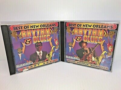 Best Of New Orleans Rhythm And Blues Vol 1&2 Promo CD's Adams Wolfman
