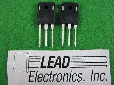 Qty2 Onsemi Mjw18020g Npn Power Transistors Rohs Compliant New Parts