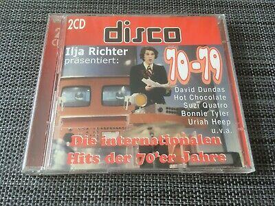 2 CD - DISCO 70-79 - Die internationalen Hits der 70'er Jahre, 1999 ()