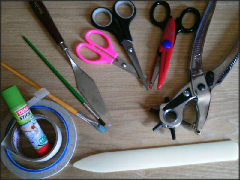 Werkzeuge zum Basteln