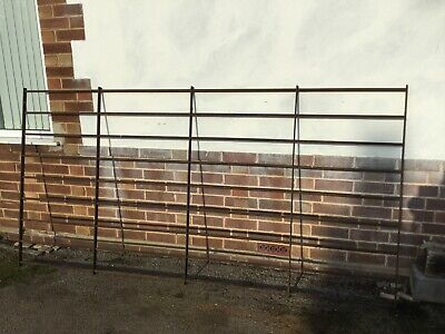 Heavy Duty Metal Gate  or railing solid bar very well made /location March Cambs