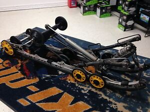 "2010 Ski-Doo Renegade 137"" Skid and Track"