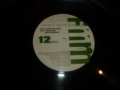 Force Mass Motion   Lost  In Time    Uk 3 Track 12  Vinyl Single