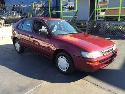 1998 Toyota Corolla Hatch 1YR WARRANTY! 3MTHS REGO! AUTOMATIC! Ashfield Ashfield Area Preview