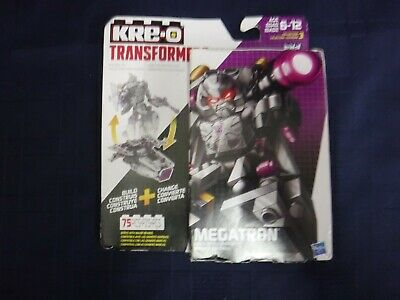 KRE-O TRANSFORMERS MEGATRON 75 PC BATTLE CHANGER