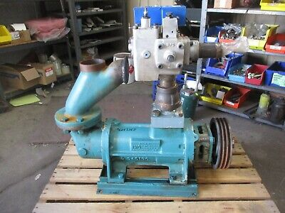 Delval Imo Ag3db-312 Hydraulic Screw Pump 625336j Used Turns By Hand