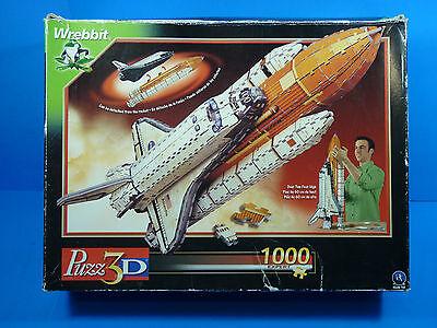 Puzz 3D Puzzle Atlantis Space Shuttle By Wrebbit  2002