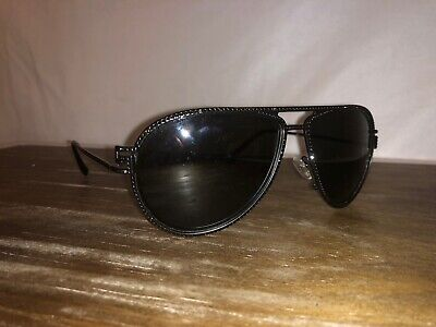 Versace Black Diamonte Crystal Aviator Sunglasses VE 2171B 125687