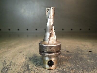 Kennametal 58 Indexable Carbide Drill Bit Km-32 Shank Km32kub0562 Used Good