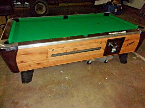 Dynamo 7 ft. coin op pool table  #PT266