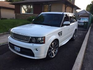 2013 Range Rover Sports Supercharge Autobiography