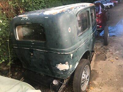 Ford Model Y 1937 2 Door Restoration Project Hotrod