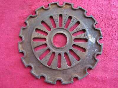 Vintage Ih International Cast Iron 3331a Planter Seed Plate Ring