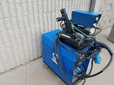 200 Amp Used Miller Dc Power Mig Welder With Millermatic Feeder Cp-200 A4018