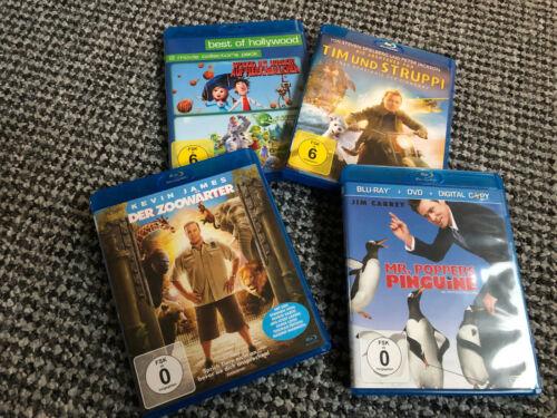 Blu-ray Disc Filme, Kinderfilme 4 Stück, wNeu, siehe Fotos,