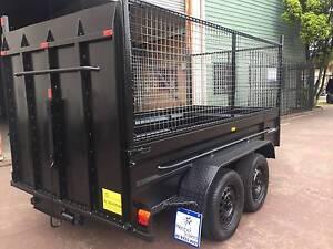 10X5 HI SIDE 900MM CAGE RAMP 12 MONTHS PRIV REGO $3800 ON ROAD Minchinbury Blacktown Area Preview