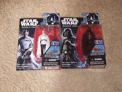 "Star wars Rogue one 3.75"" figures Director Krennic, Darth Vader (Lot of 2)"